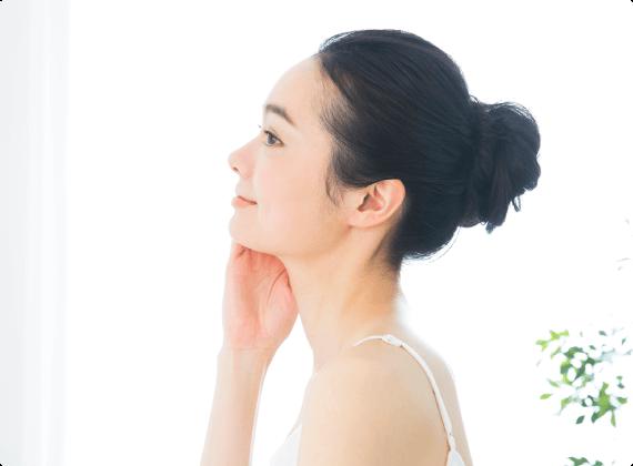 皮膚疾患全般から美容までトータルにサポートしています。